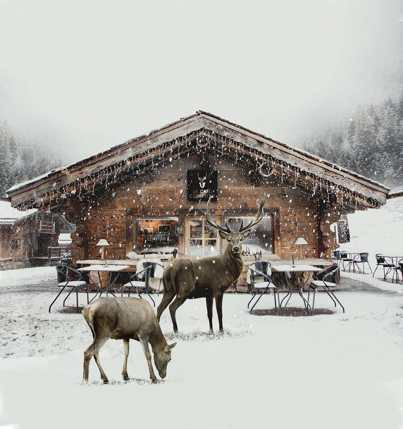 Vallorcine's Cafe Comptoir