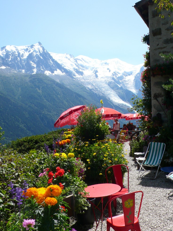 Chalet Floria is a great walk for acclimatisation