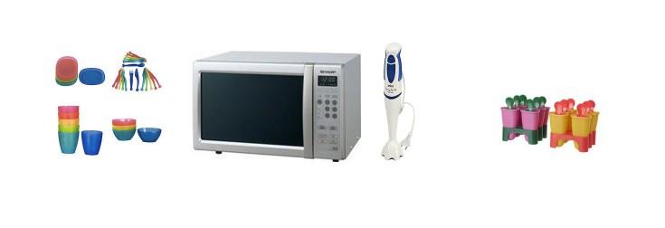 family kitchen equipment