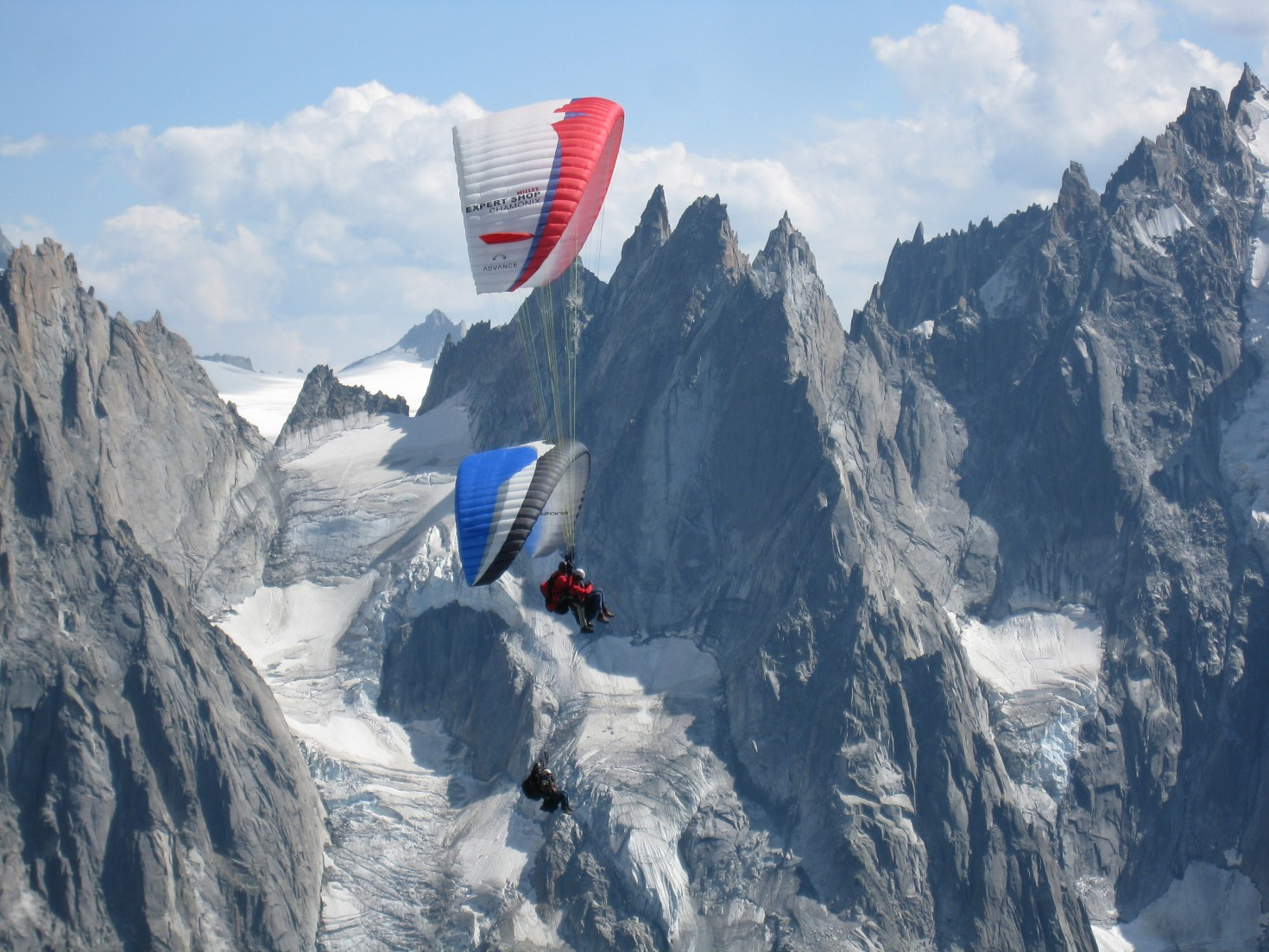 Paragliding in Chamonix for two