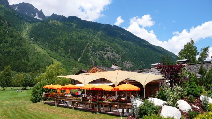 Chamonix Golf club restaurant