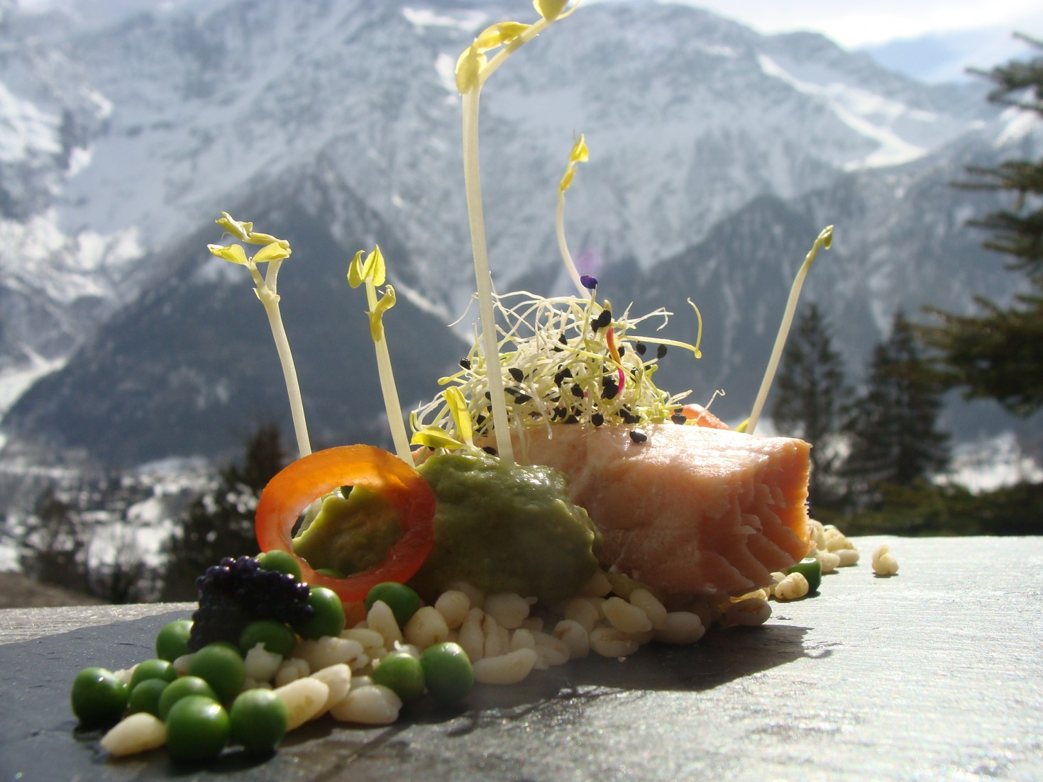 Chalet catering in Chamonix