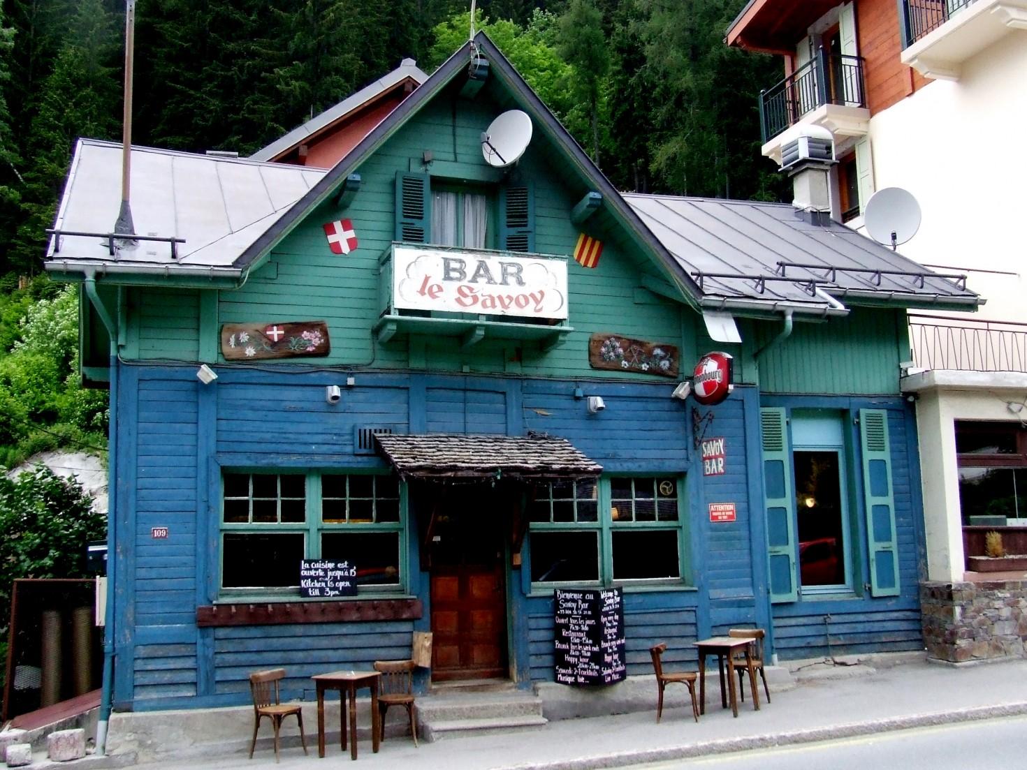 Savoy Bar, Argentiere