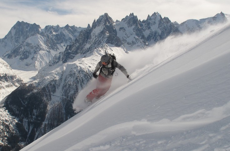 Chamonix Snowboarding - Flegere