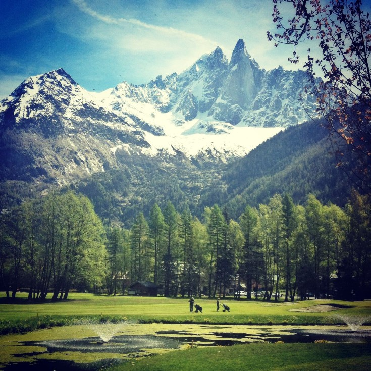 Chamonix golf course