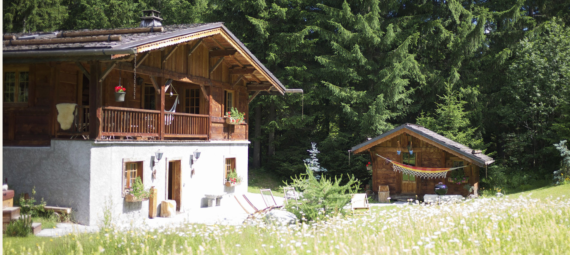 Chamonix Chalet in Summer