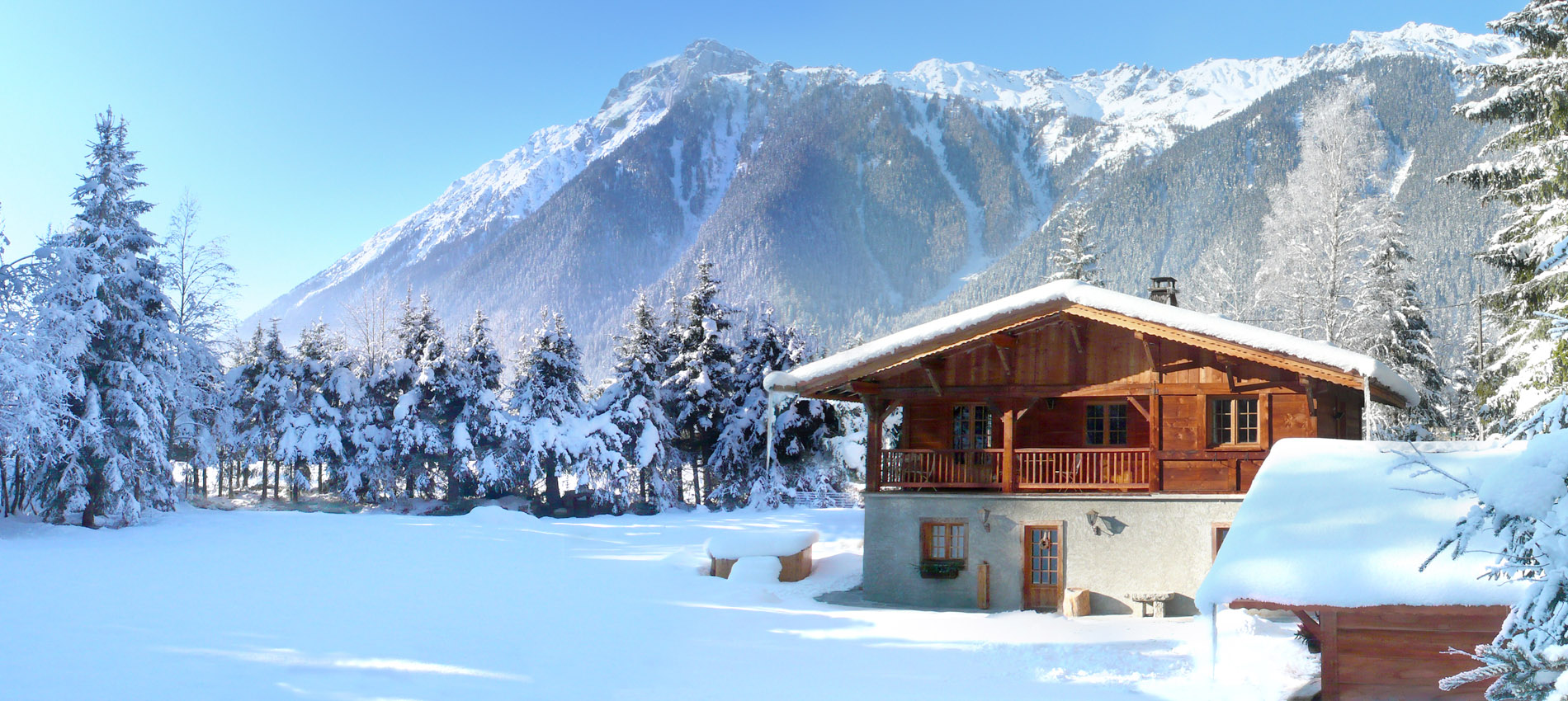 Chamonix Chalet in WInter