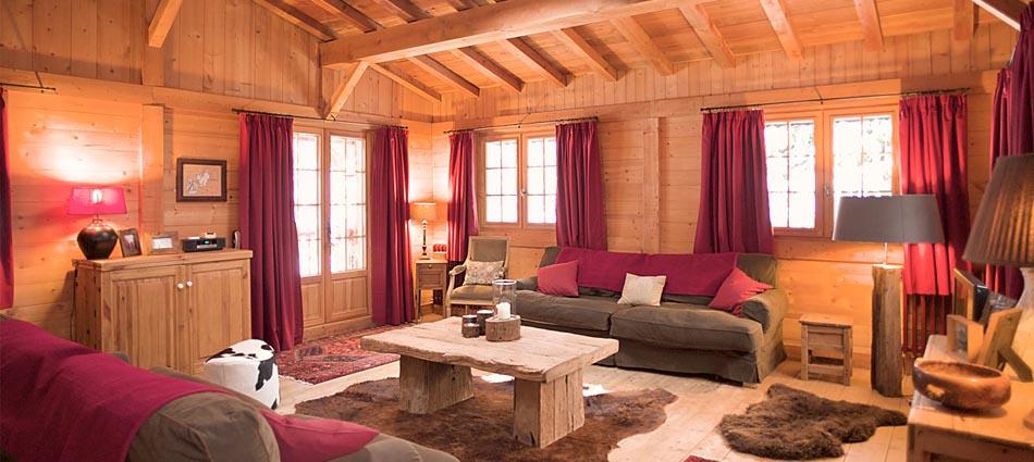 Chamonix Chalet interior