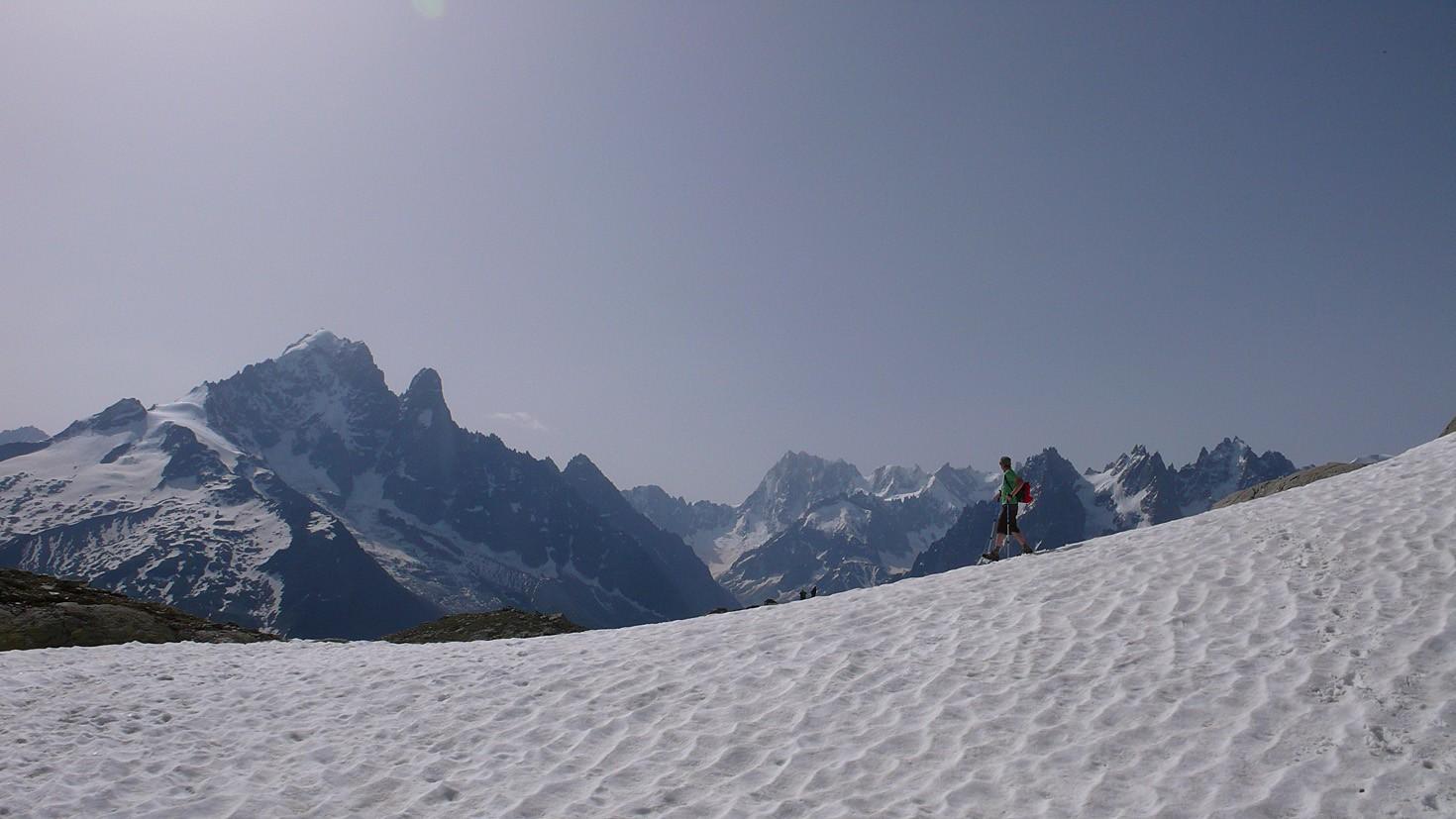 Névé below Lac Blanc