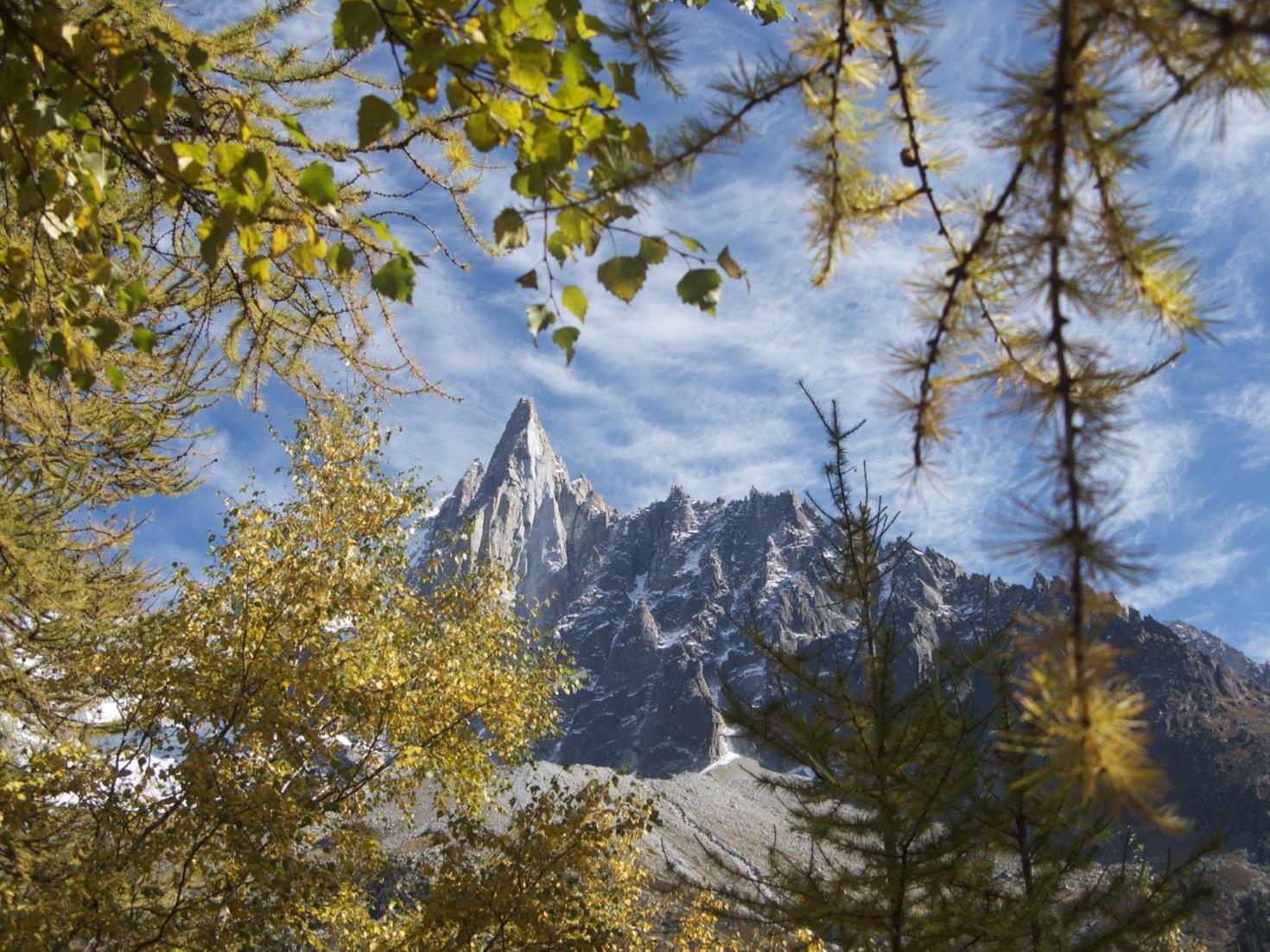 Montenvers autumn